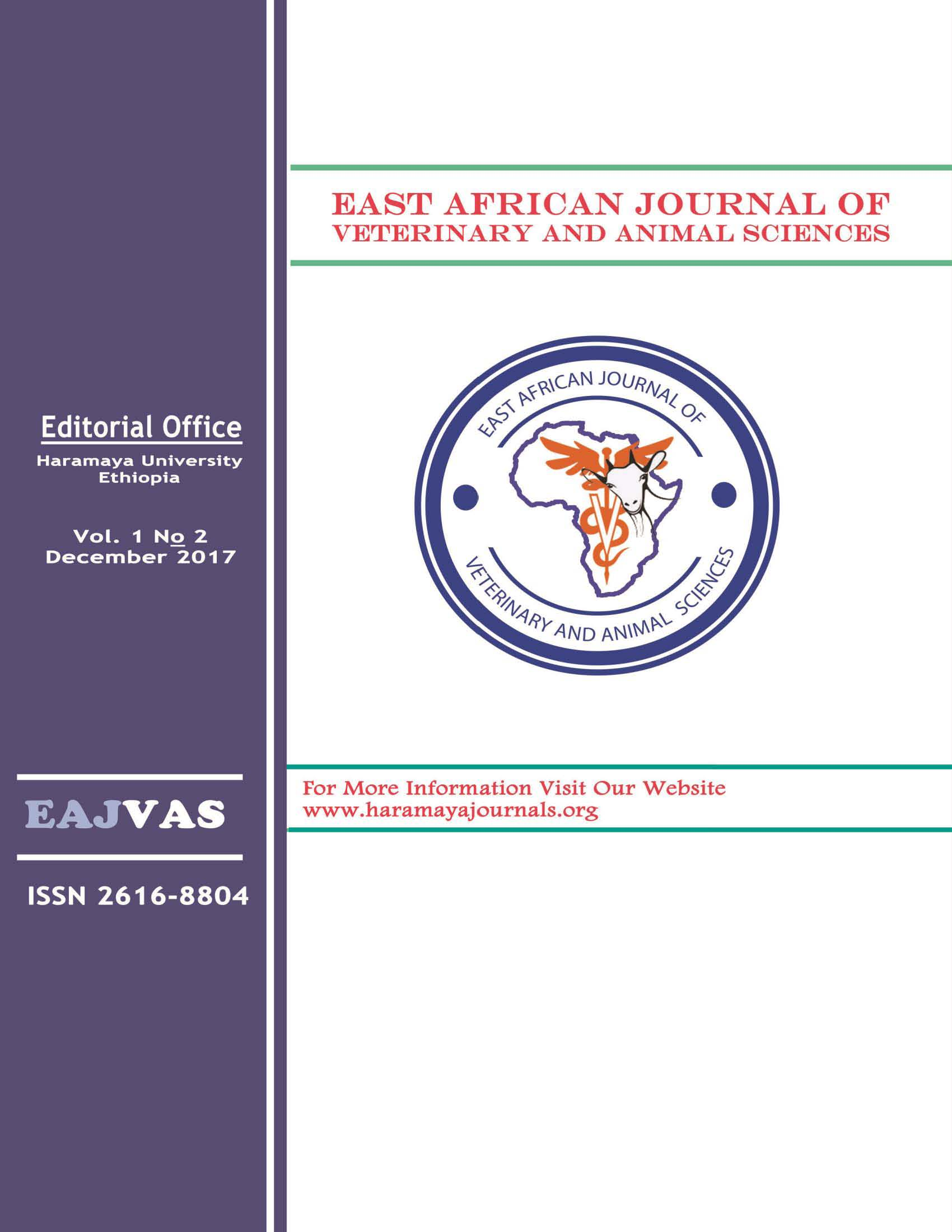 Vol 1 No 2 (2017) | East African Journal of Veterinary and